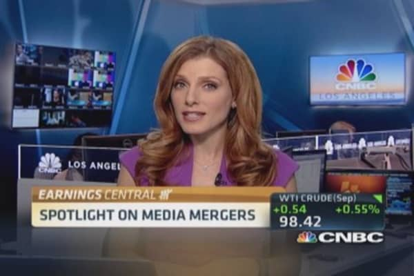 Earnings preview: Media mergers