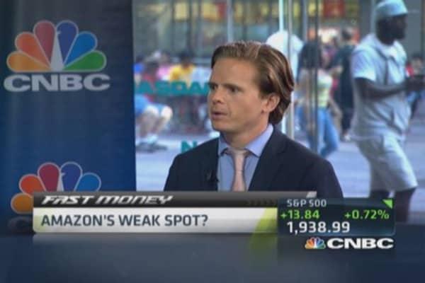 Amazon's weak spot?