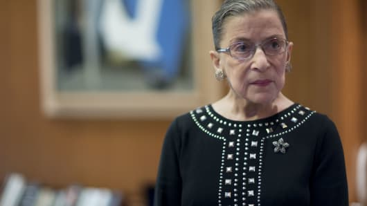 Ruth Bader Ginsburg, associate justice of the U.S. Supreme Court.