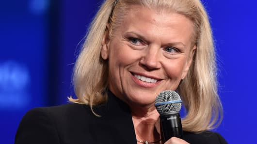 Virginia Rometty, Chairman, President and CEO of IBM.