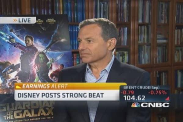 Disney's Bob Iger: Marvel brand has arrived