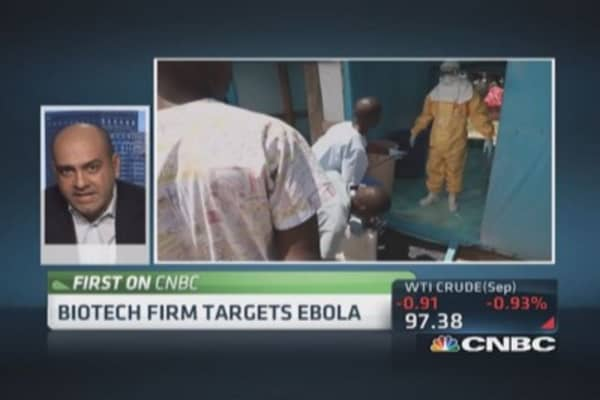 Biotech firm targets Ebola