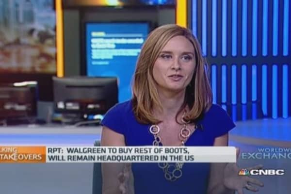 Walgreens to acquire Boots