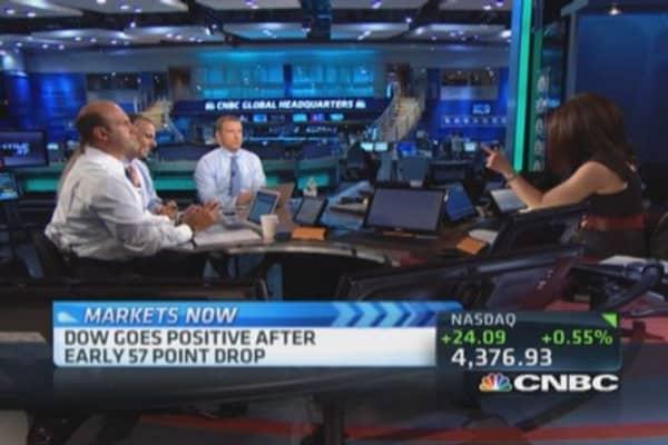 Financials still huge part of market: Trader