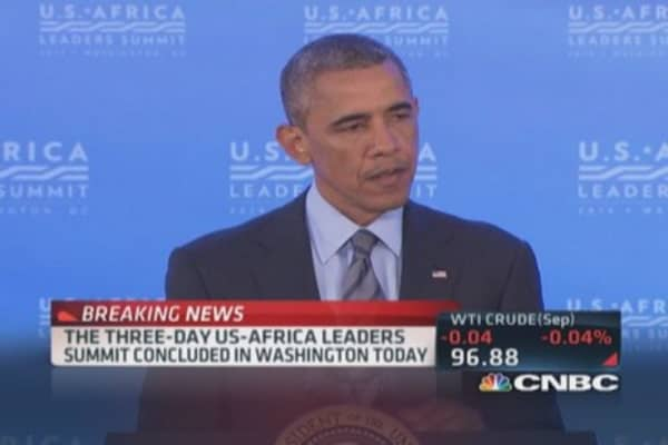 President Obama: $33 billion in commitments to Africa