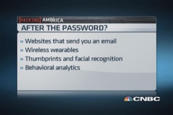 Passwords now passé?