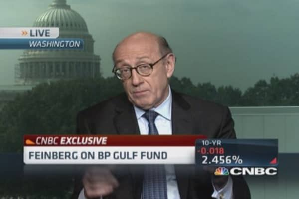 Feinberg: Real dispute over BP Gulf fund