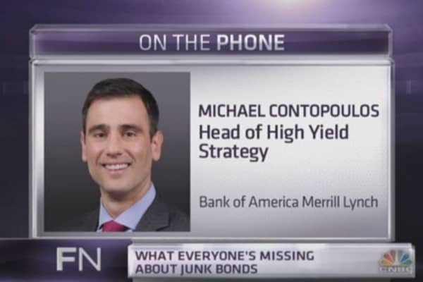 BofAML's top high yield strategist: Don't freak over junk