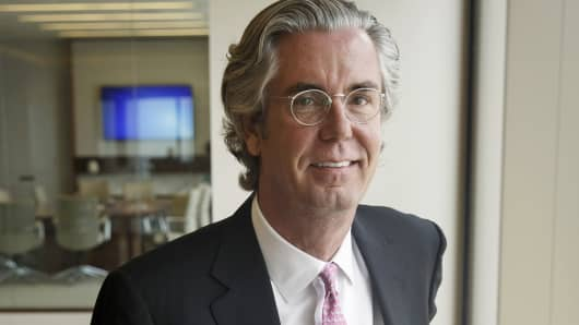 Paul McCulley, chief economist of Pimco, is shown at the firm's headquarters in Newport Beach, Calif.