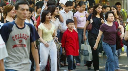 Premium Singapore people