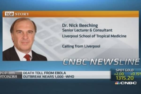 Ebola would be contained in the UK: Pro