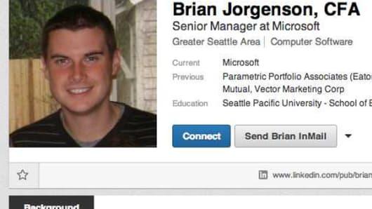 Brian Jorgenson, 32, had pleaded guilty to securities fraud.