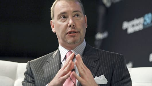 DoubleLine Capital CEO Jeffrey Gundlach speaks at the Bloomberg Markets 50 Summit in New York.