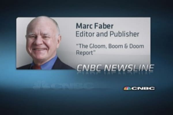 Perma-bear Marc Faber: We're seeing a rebound