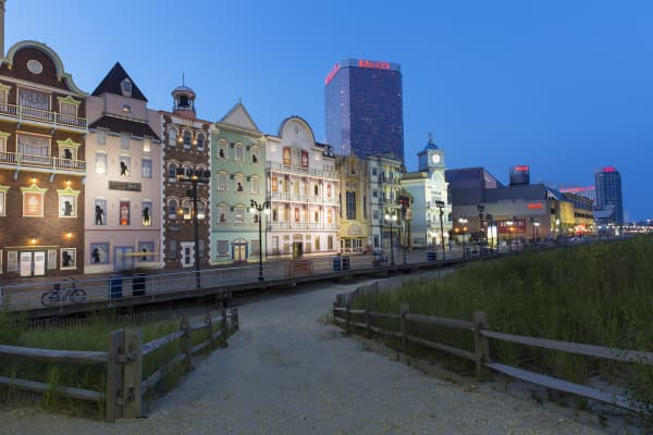 Atlantic City Boardwalk.