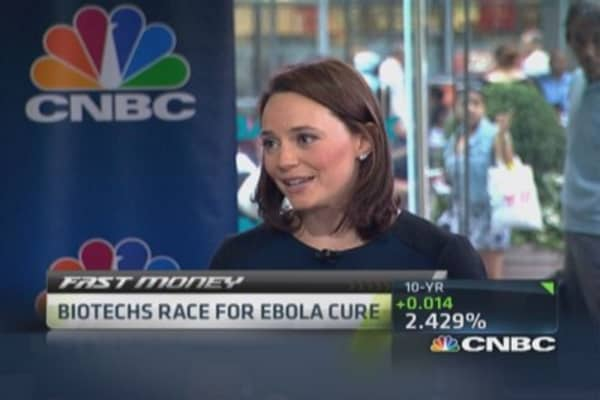 Biotechs race for Ebola cure
