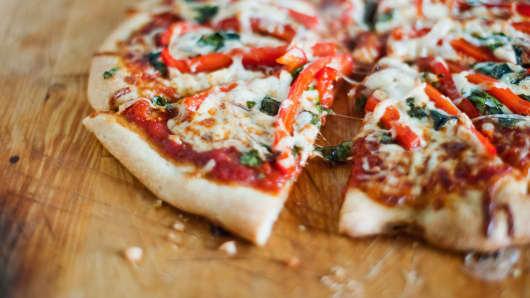 Premium vegetarian pizza