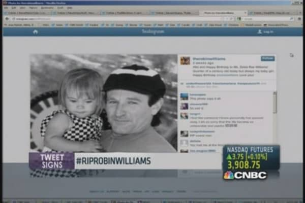 Celebs, fans mourn Robin Williams on Twitter