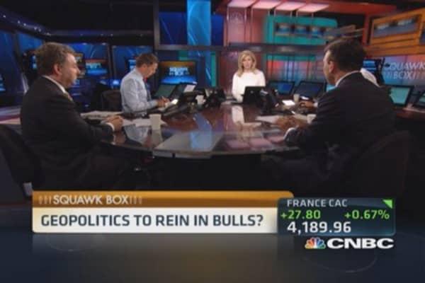 Geopolitics to rein in bulls? Watch oil prices: Pro