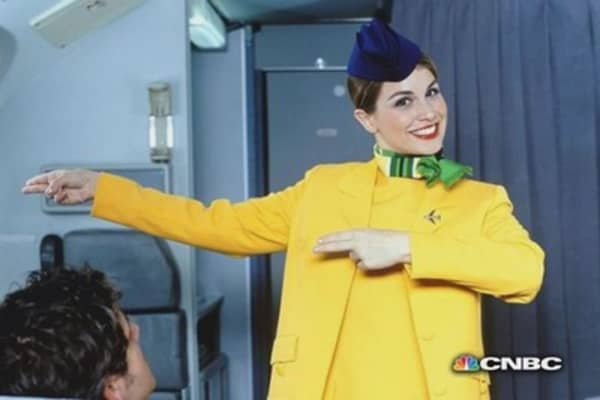 Airline safety vids: hot, funny and strange