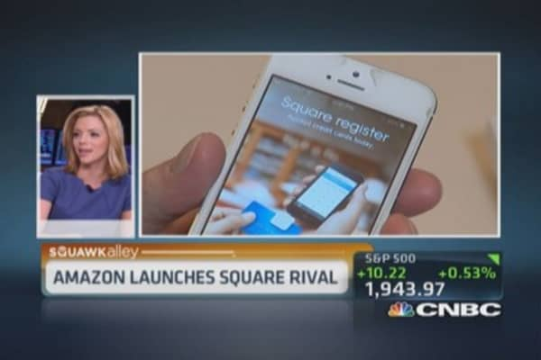 Amazon unveils Square & PayPal rival