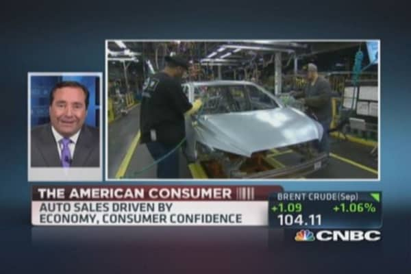Car sales signal strong consumer