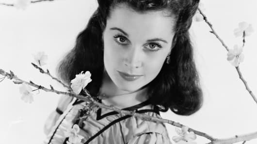 Vivien Leigh as Scarlett O'Hara in 'Gone With the Wind.'