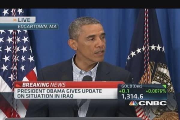 Pres. Obama: US broke ISIS siege of Mt. Sinjar