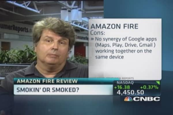 Consumer Reports reviews Amazon's phone