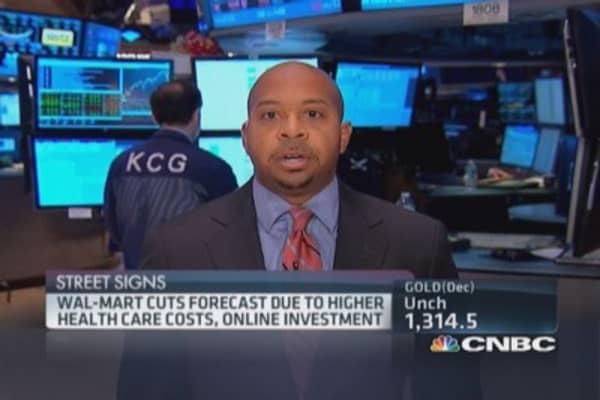 Wal-Mart health costs really a headwind?