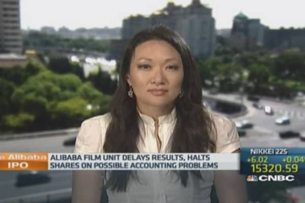 Alibaba film unit found possible accounting flaws