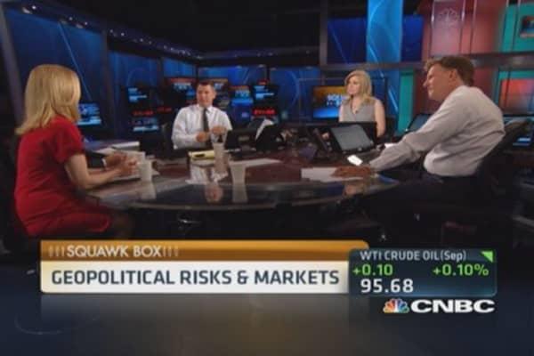 Investors keep close eye on geopolitics