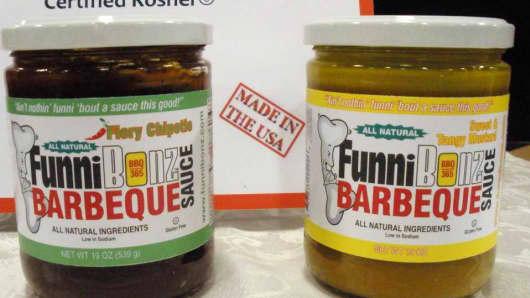 FunniBonz BBQ Sauce.