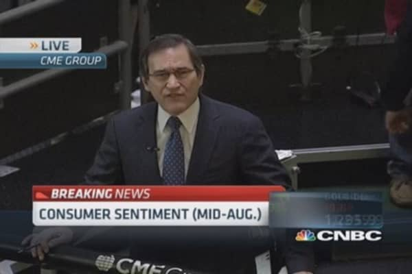 Consumer sentiment index 79.2