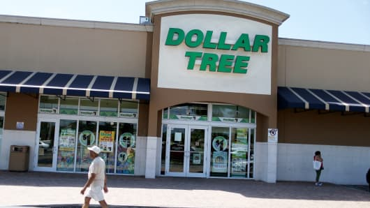A Dollar Tree store in Miami