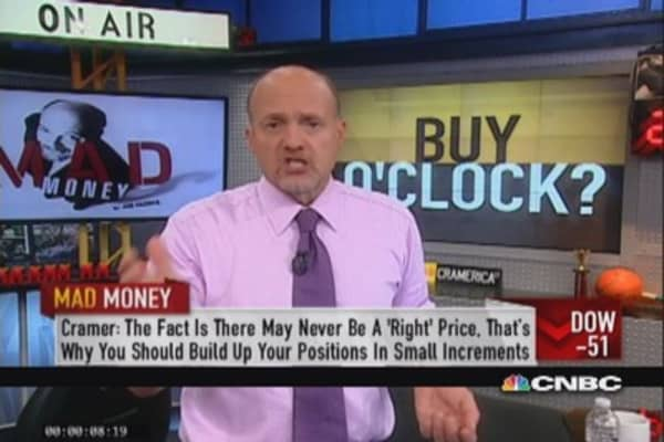 Cramer: Be patient, wait for right pitch