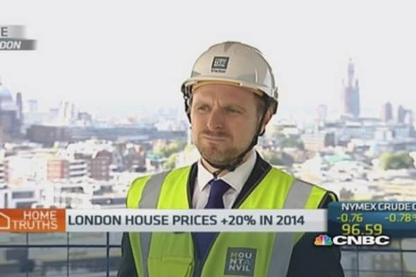 'Real pent up demand' for London housing: CFO