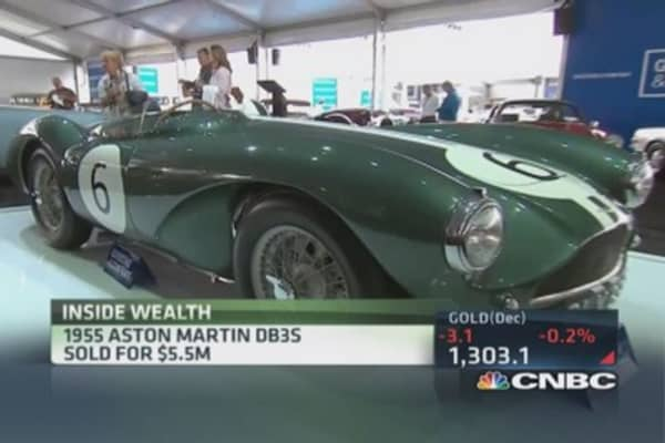 Pebble Beach car auction