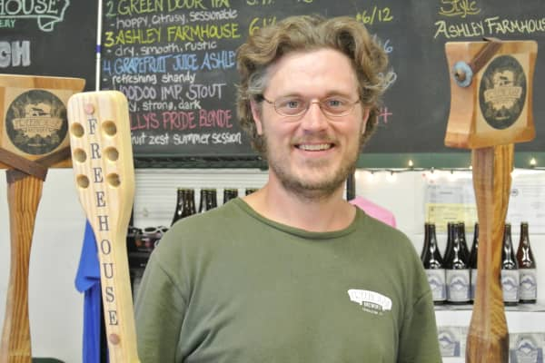 Arthur Lucas, owner of Freehouse Brewery