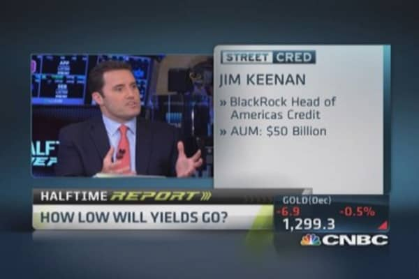 How low will yields go?