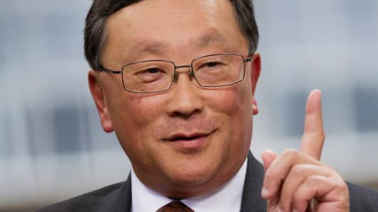 John Chen, chief executive officer of BlackBerry.