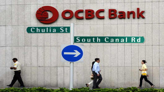 OCBC to buy NAB's wealth business in S'pore, HK