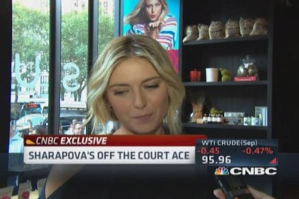 Sharapova's success with Sugerpova