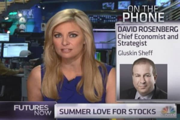 David Rosenberg: I'm becoming less bullish