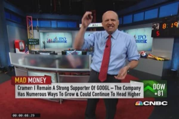 Cramer: Google had remarkable run since IPO