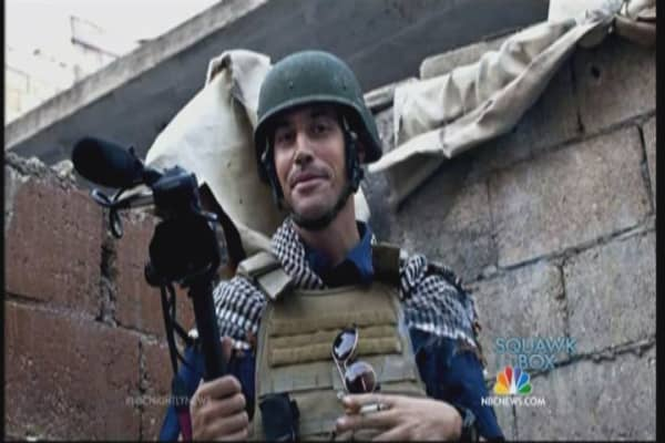 Freelance journalist James Foley