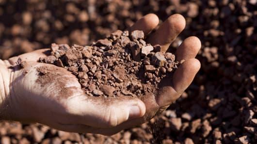 Premium iron ore