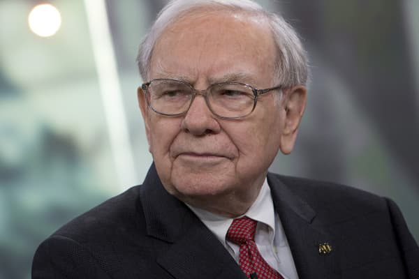 Berkshire Hathaway Chairman and CEO Warren Buffett pauses during an interview in New York.