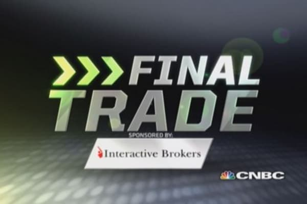 Fast Money Final Trade: IWM, AAPL, SPY, HYG