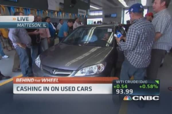 Cashing in on used cars